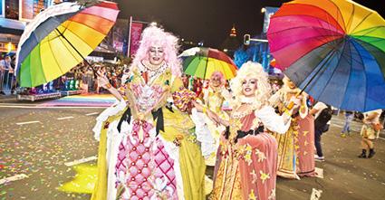 シドニーのプライドパレード